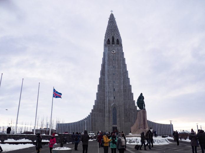 hallgrimskirkja kosciol reykjavik
